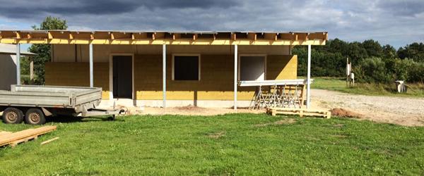 Rystet over tyveri af vinduer<br> og døre til FDF's nye hus