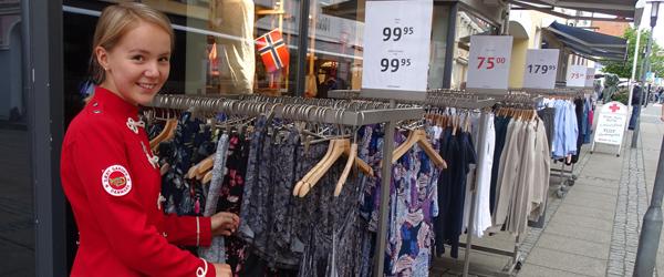 Paninnguaq fra Sæbygarden<br> fik også tid til at shoppe