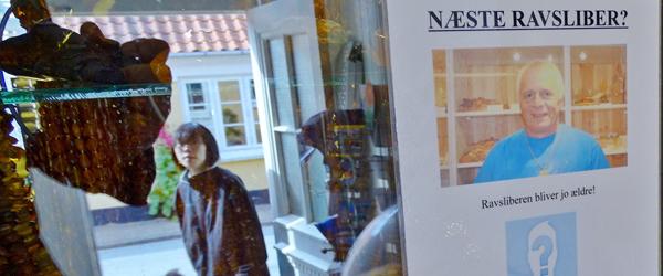 Ravsliberen i Sæby vil gerne<br> oplære byens nye ravsliber