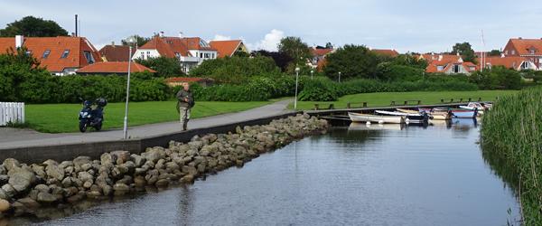 Havnen i Sæby frister både<br> de lokale og turister