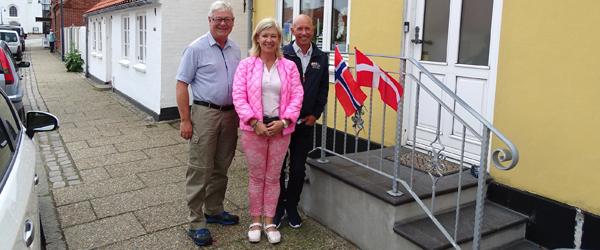 Norske musikere vilde<br> med at være i Sæby