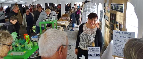 Festlig lørdag med jazz, kunst<br> og smag på torvet i Sæby