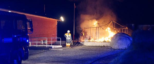 Udhus i Understed udbrændte i nat