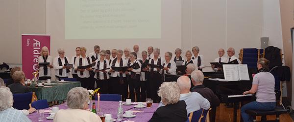 Tilbud til sangglade ældresags medlemmer
