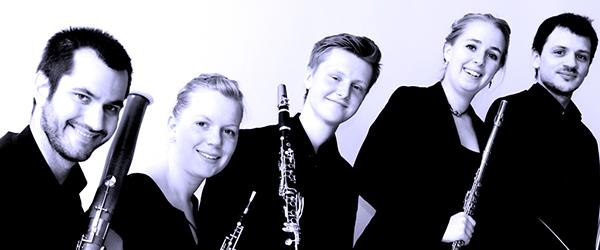 Carl Nielsens blæserkvintet i Sæby Kirke