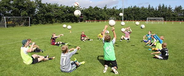 To dages fodboldskole i Voerså IF stor succes