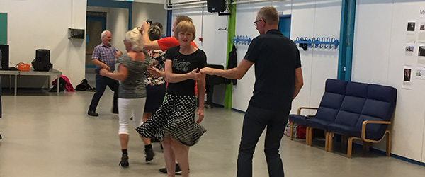 I aften kan du lære at danse swing & rock'n roll