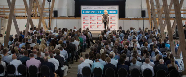 Erhvervs-Get-Together på Knivholt trak godt 300 deltagere