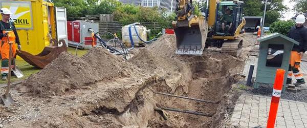 Forsyningen gør status<br> på kloakarbejder i Sæby