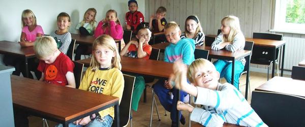 Mini-konfirmander mødes<br> snart i Albæk-Lyngså Sogn