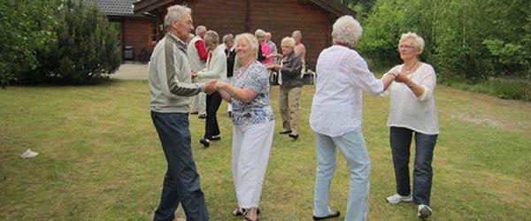 Dyrk de fire H'er hos Seniordans i Sæby