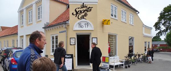 Sæby Sports Café støtter<br> indsamling til Skovlyst