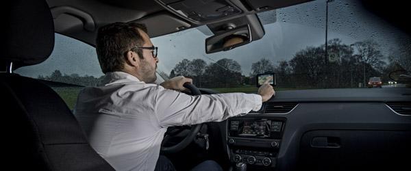Mange bilister erkender uopmærksomhed