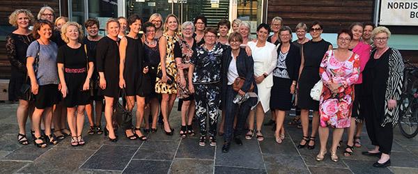 33 kvindelige ejerledere på studietur til Berlin