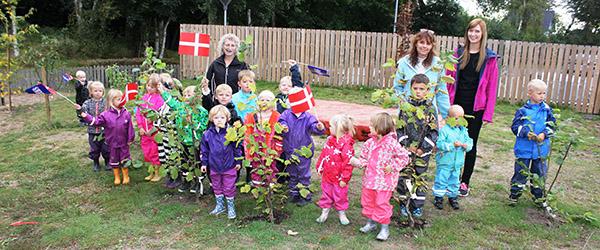 Matas sponserede grønt til Voerså Børnehus