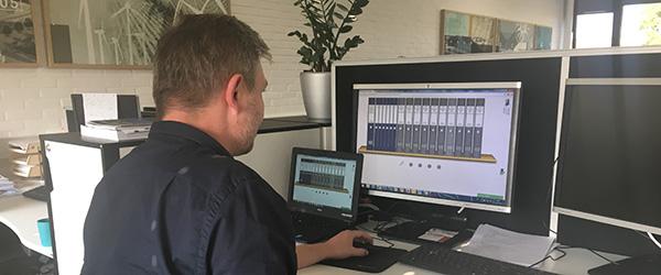 Digital licitation på det nye børnehus i Sæby
