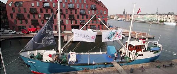 Sæby får besøg af Danmarks<br> første kunstskib for børn