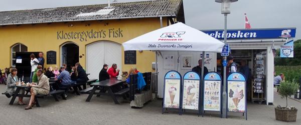 Klostergydens Fisk i Sæby<br> fejrer Fiskens Dag lørdag