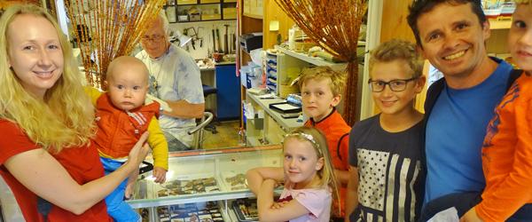 Tysk familie roser den store<br> gæstfrihed i Sæby-området