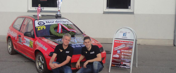 Team Svenningsen Dansk<br> Mester i Rallycross Super2000