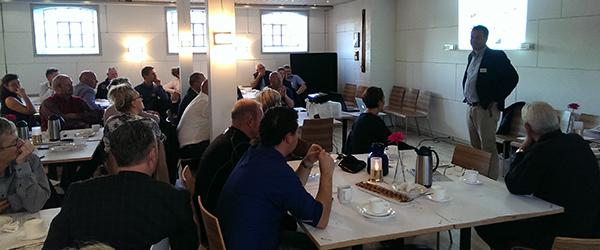Spirende erhvervsnetværk i Sæby Golfklub