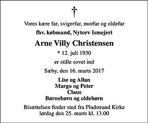 Arne Villy Christensen