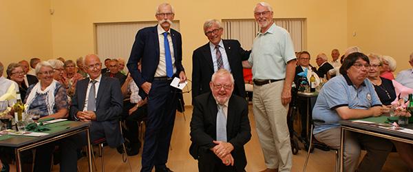 Festligt 25 års jubilæum<br> i Sæby Y´s Men´s Club