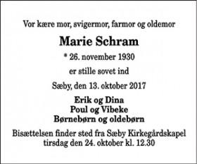 Marie Schram