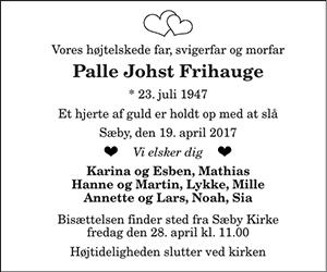 Palle Johst Frihauge