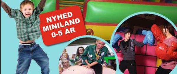 Sæby Fritidscenter inviterer<br> alle børn i Hoppeland