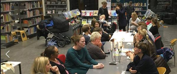 Unge tilflyttere skaber<br> dejligt nyt liv i Sæby