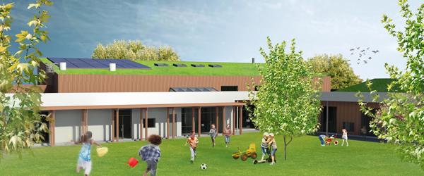 Børnehuset Sættravej<br> i Sæby i nye rammer