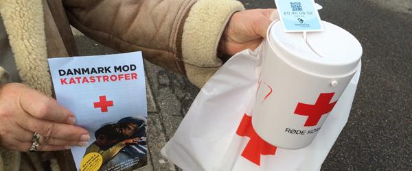 Røde Kors Sæby fik 43.000 ind<br> ved indsamling i syv byer