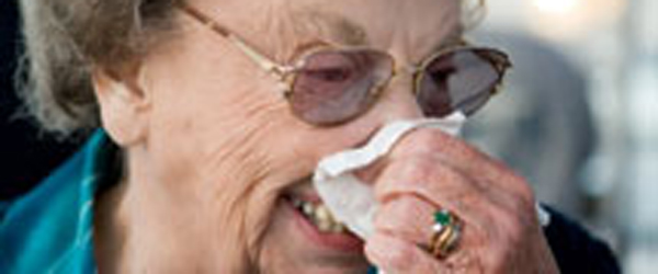 Husk vaccine mod årstidens<br> influenza hvis du er 65+