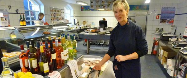 Klostergyden's Fisk sendte<br> 5000 kr. til Knæk Cancer