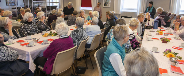 Fuldt hus i Sæby til Aktive<br> Kvinders modeshow