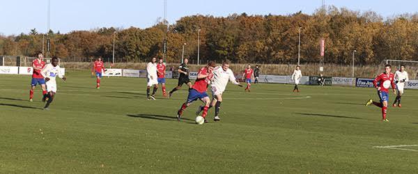 Skjold Sæby tabte 1-2<br> på hjemmebanen