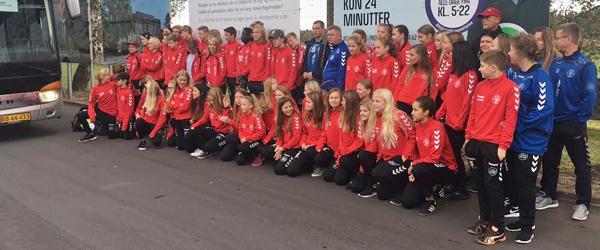 Ungdomshold fra IF Skjold<br> Sæby til Verona Cup