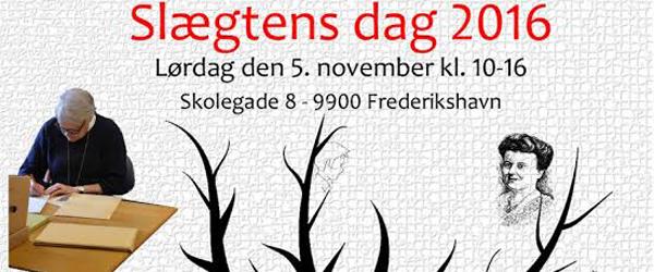 Slægtens dag holdes i år<br> lørdag i Frederikshavn