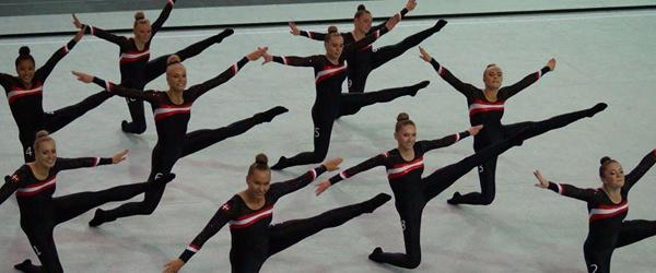 Springteam Sæby kom hjem<br> med EM guld og bronze