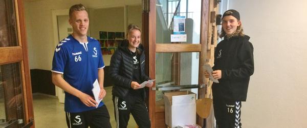 Stidsholt-elever var på<br> PR-tur til Skagen Skole