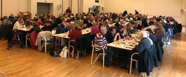 178 spillere var mødt op<br> til Lions Banko i Sæby