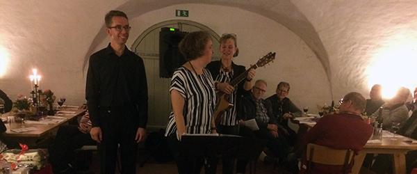 Slotssang på Sæbygaard med efterårsstemning