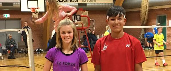 Badminton-talent fra Sæby<br> viste storspil i Tylstrup
