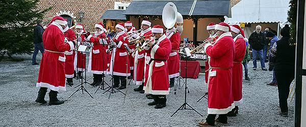 Alle er klar til Gammel<br> Jul på Sæbygaard