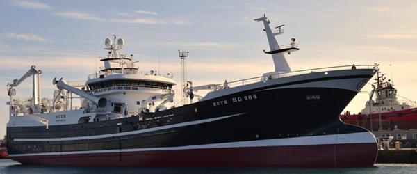Sæby Fiske-Industri får 2400<br> ton makrel fra Hirtshals