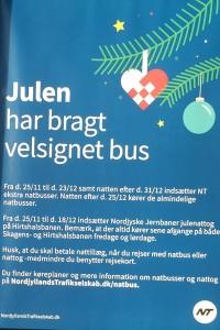 Kom sikkert hjem med tog og bus efter julefrokosten : SaebyAvis.dk – lokale nyheder fra Sæby