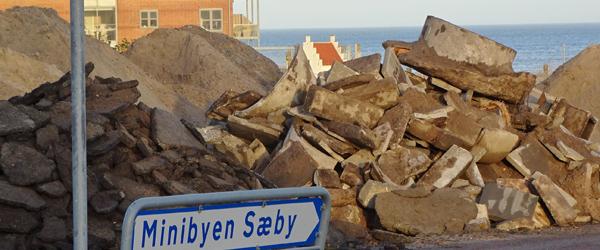 Sæby Miniby glæder sig over<br> genåbning af Solsbækvej