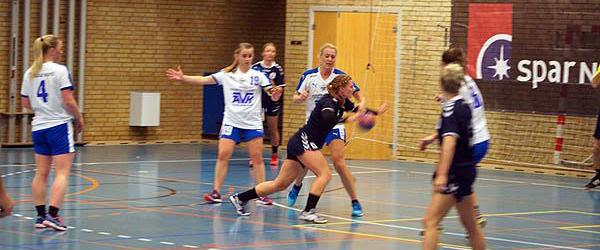 Sæbys håndbolddamer<br> spiller hjemme søndag