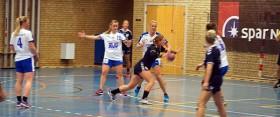 Sæbys håndbolddamer<br> tabte 30-31 i Hornbæk
